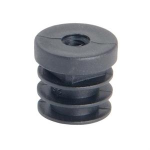 THREADED ROUND INSERT - RIBBED SHANK