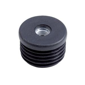 METAL-THREADED ROUND INSERT