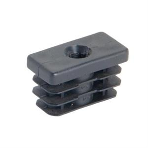 THREADED RECTANGULAR INSERT - RIBBED SHANK