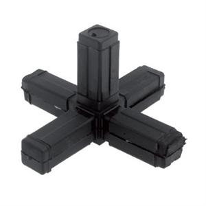 SQUARE TUBE CONNECTOR - 5 WAY CORNER