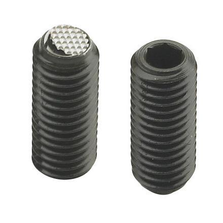 Treated Steel Threaded Grub Screws With Hex Socket & Ball Point