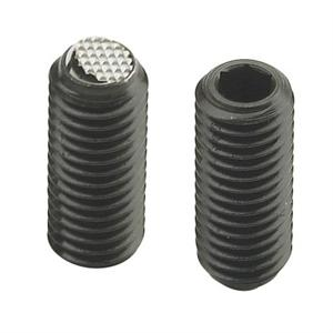 Picture of THREADED GRUB SCREW WITH HEXAGON SOCKET AND FLATTENED KNURLED BALL POINT