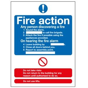 A5 Fire Action