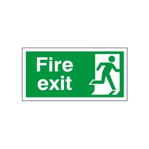 150x450mm Fire Exit (Symbol Right)