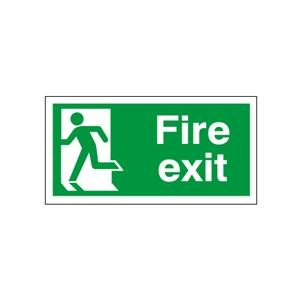 Picture of 150x450mm Fire Exit (Symbol Left)