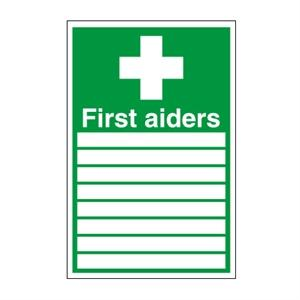 300x200mm First Aiders