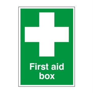 210x148mm First Aid Box