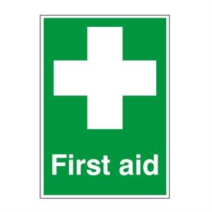 Picture of 400x300mm First Aid