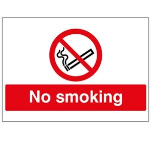 300x500mm No Smoking