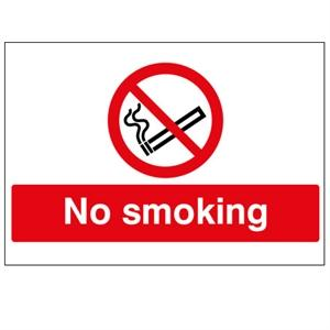 Picture of 450x600mm No Smoking