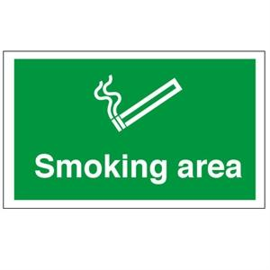 450x600mm Smoking Area