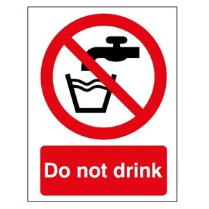 A5 Do Not Drink