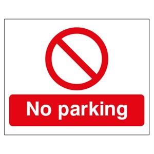 300x500mm No Parking