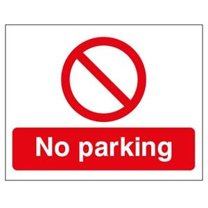 450x600mm No Parking