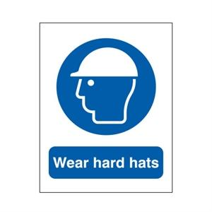 400x300mm Wear Hard Hats