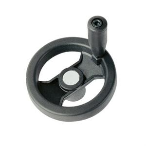 2-SPOKE CONTROL HANDWHEEL WITH REVOLVING HANDLE