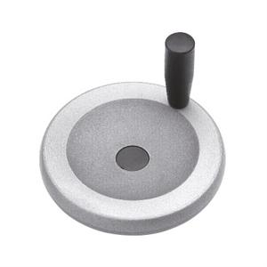 ALUMINIUM CONTROL HANDWHEEL WITH REVOLVING HANDLE