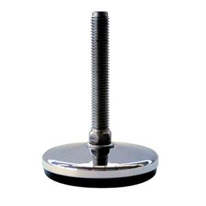 HEAVY DUTY FIXED FOOT ALL STAINLESS STEEL WITH ANTI-SLIP PAD