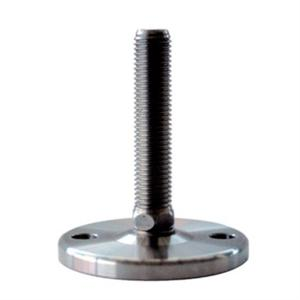 HEAVY DUTY FIXED FOOT BOLT-DOWN BASE ALL STAINLESS STEEL WITH OPTIONAL ANTI-SLIP PAD